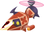 Red Gummi Copter KHX