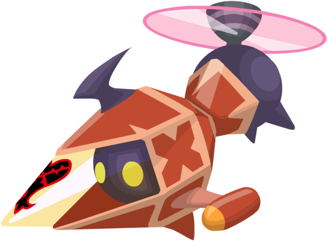 File:Red Gummi Copter KHX.png