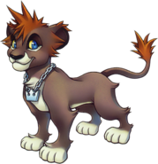 Sora- Lion Form (Art) KHII