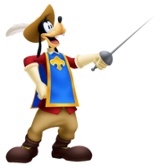 Goofy- Musketeer Outfit KH3D