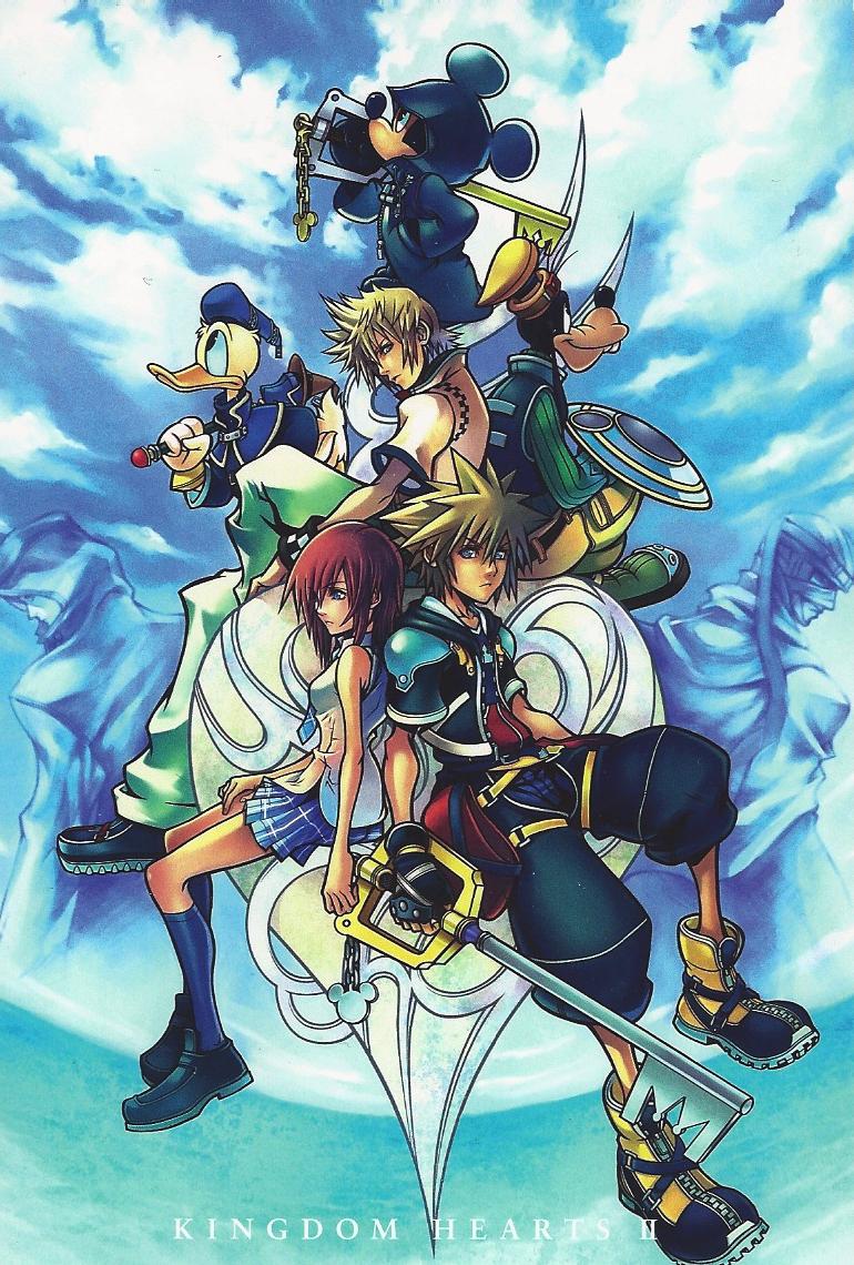 Alf img - Showing > Kingdom Hearts Artwork
