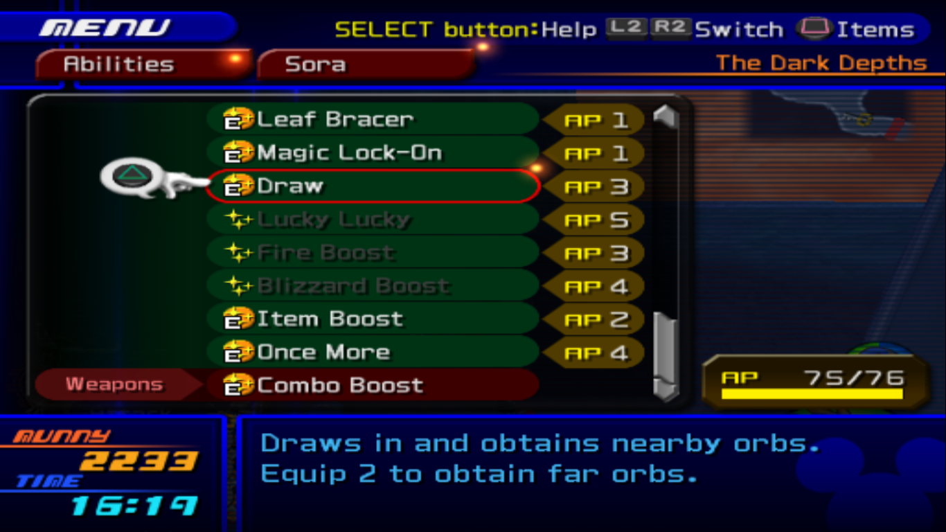 Abilities (Kingdom Hearts II) | Kingdom Hearts Wiki | FANDOM ...