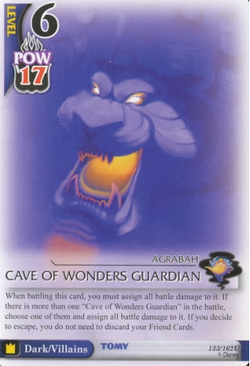 Cave of Wonders Guardian BoD-133
