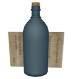 Kairi's Letter and Bottle KHII
