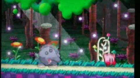 Kirby Purple Plants