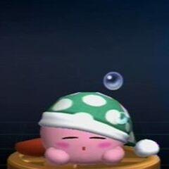 Trofeo de Kirby Sueño en <a href=