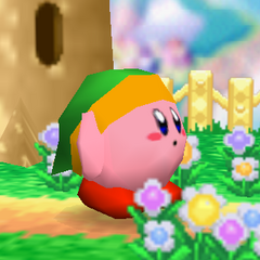 Link Kirby en Super Smash Bros