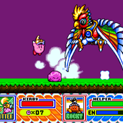 Dyna Blade en Kirby Super Star.