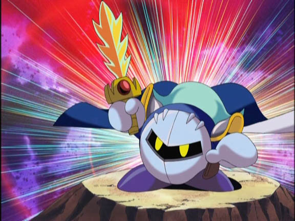 Anime Characters Kirby Wiki : Image metaknight in kirby anime g wiki