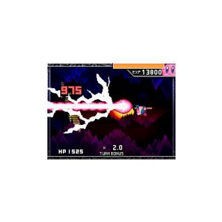 Kirby Kabuki atacando en Kirby Mass Attack