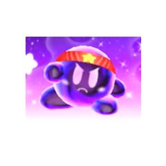 Dark Kirby en <a href=