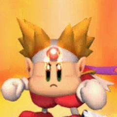 Knuckle Joe en el intro del modo De Ayudante a Héroe de Kirby Super Star Ultra.