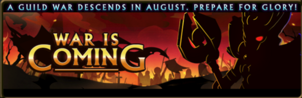 Guild war is coming banner