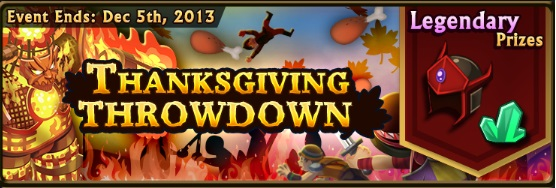 Thanksgiving Throwdown banner