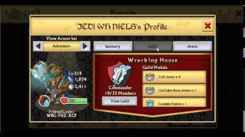 Knights and Dragons Guild Spotlight Wrecking House 2-0