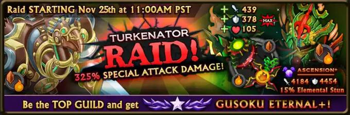 Turkenator Raid