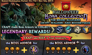 Halloween Boss Collection