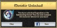 Sugarplum Monster Unlock