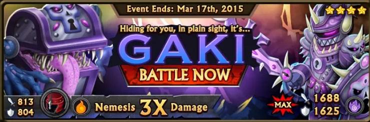 Gaki Banner