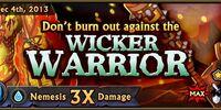 Wicker Warrior