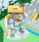 Corvus on the World Map