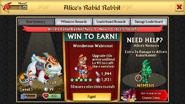 Alice's Rabid Rabbit Level 1 Stats