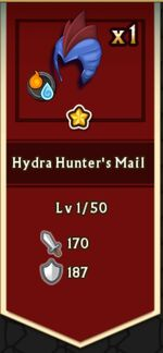 Hydra Hunter's Mail from the Dark Prince's Chest