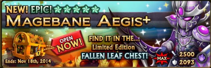 Fallen Leaf Chest Banner