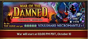Soulshard Necromantle Banner for iOS