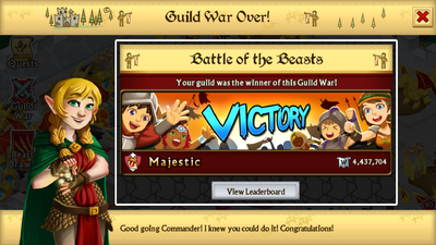 Battle of the Beasts Winner for Droid - Majestic