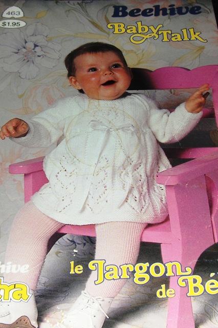 Patons Knitting Pattern Archive : Patons Beehive 463 Baby Talk Knitting and Crochet Pattern Archive Wiki Fa...