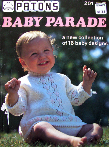 Patons Beehive N0. 201 Baby Parade Knitting and Crochet Pattern Archive Wik...