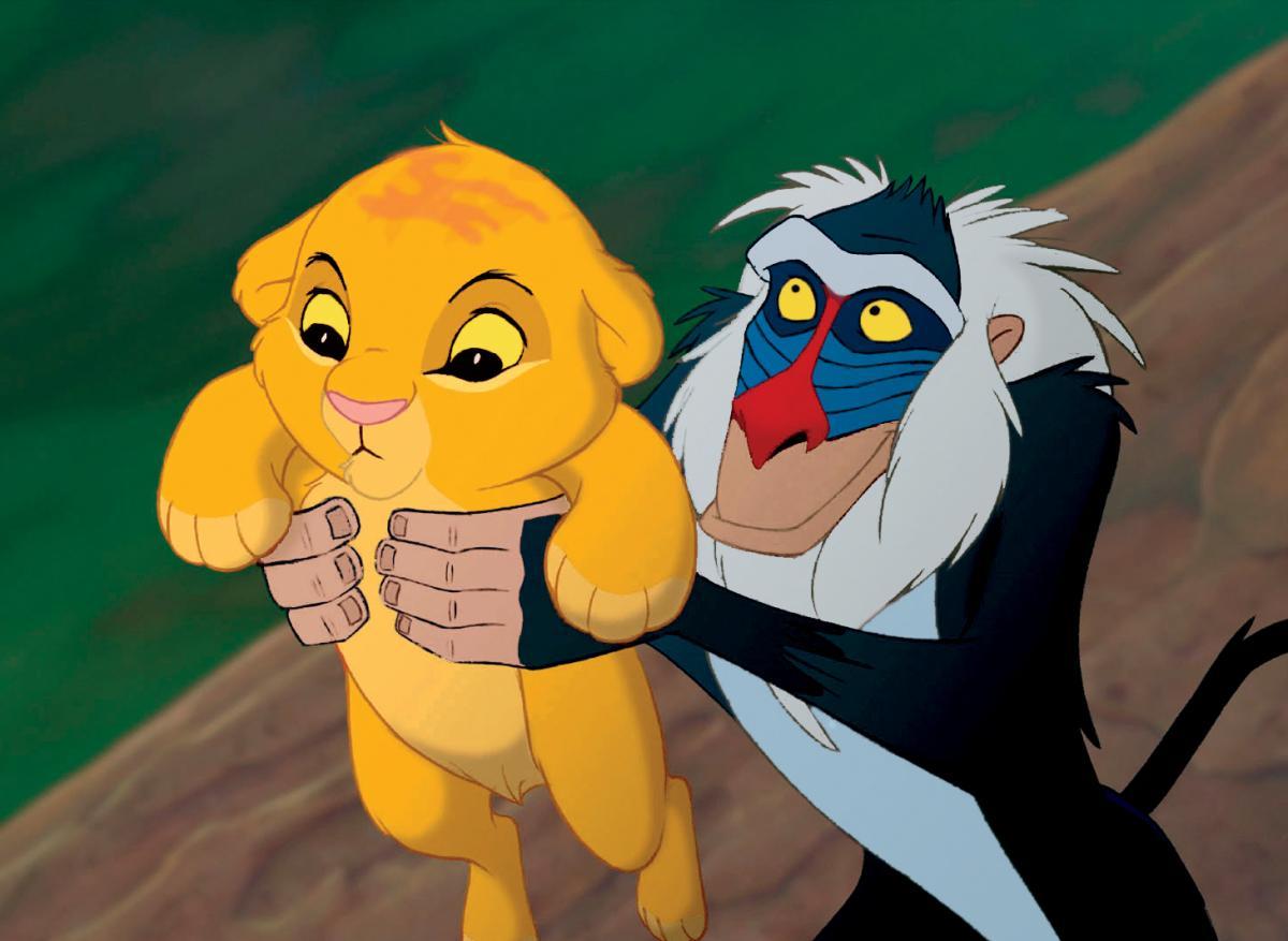 Rafiki König Der Löwen
