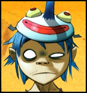 Personality ... MBTI Enneagram 2D (Gorillaz) ... loading picture