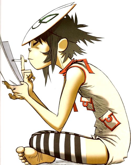 Image - Noodle Reading.png | Gorillaz Wiki | Fandom