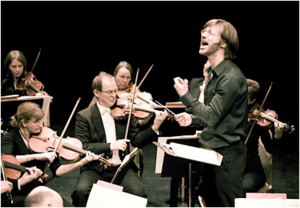 The Conductor and Sinfonia ViVA