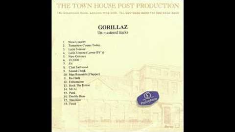 Gorillaz - Re-Hash (Unmastered)