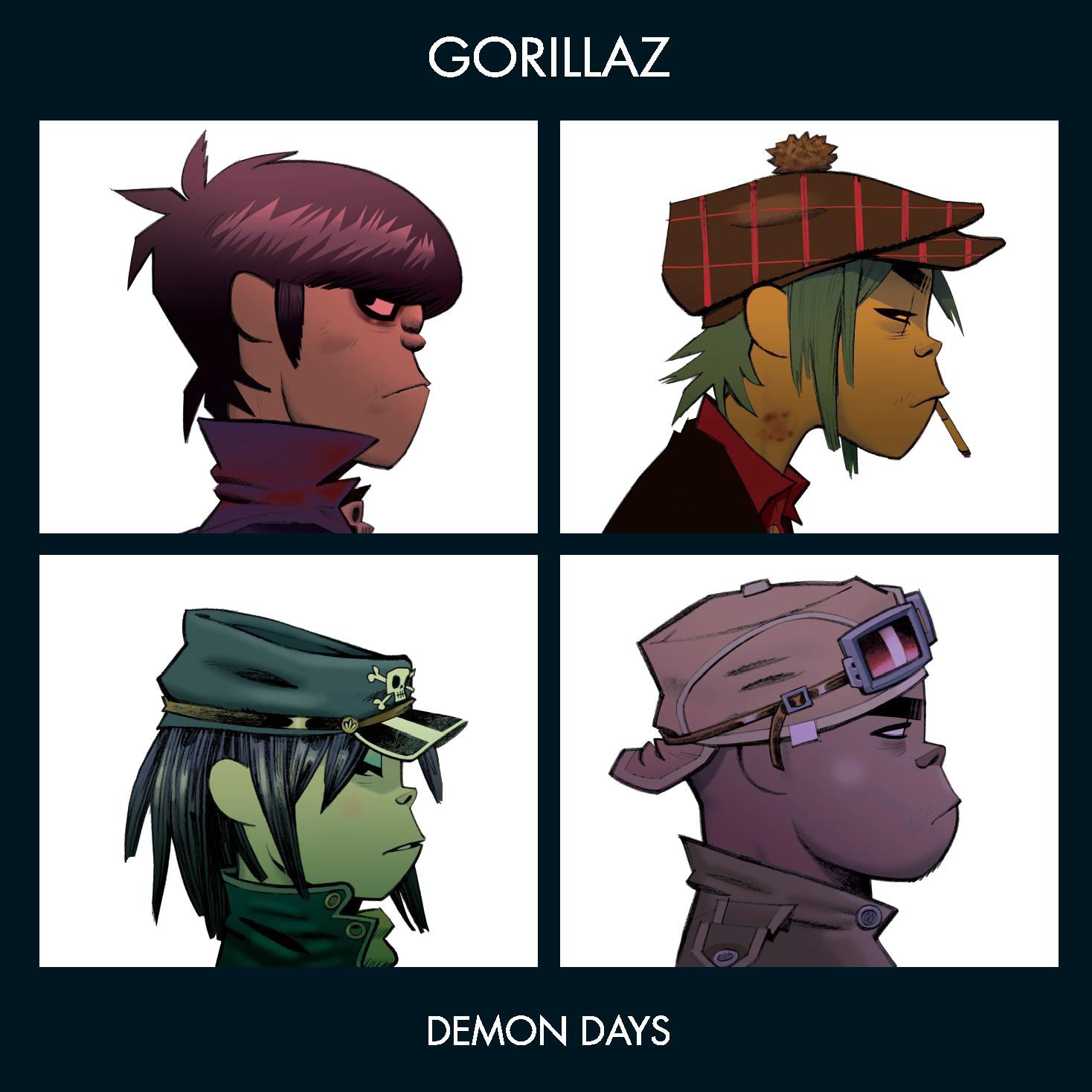 Y Gorillaz Demon Days | Go...
