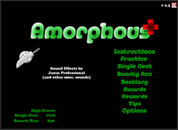 AmorphousPlusTitleScreen