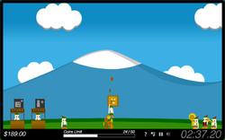 Coinbox Hero - Main Screen