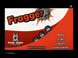 Fragger-title-screen