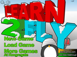 Learn to Fly 2 title screen