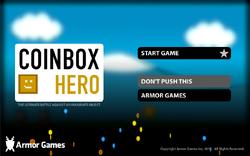 Coinbox Hero - Title Screen