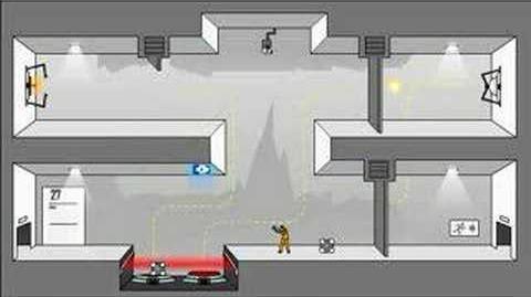 Portal- The Flash Version Walkthrough Levels 21-30