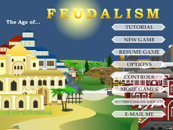 Feudalism title screen