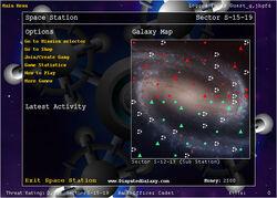 Starfighter Disputed Galaxy