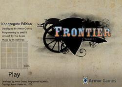 Frontier title screen