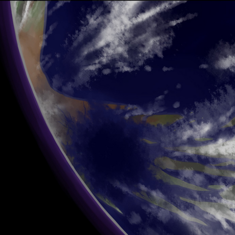 View from space: after <a href=