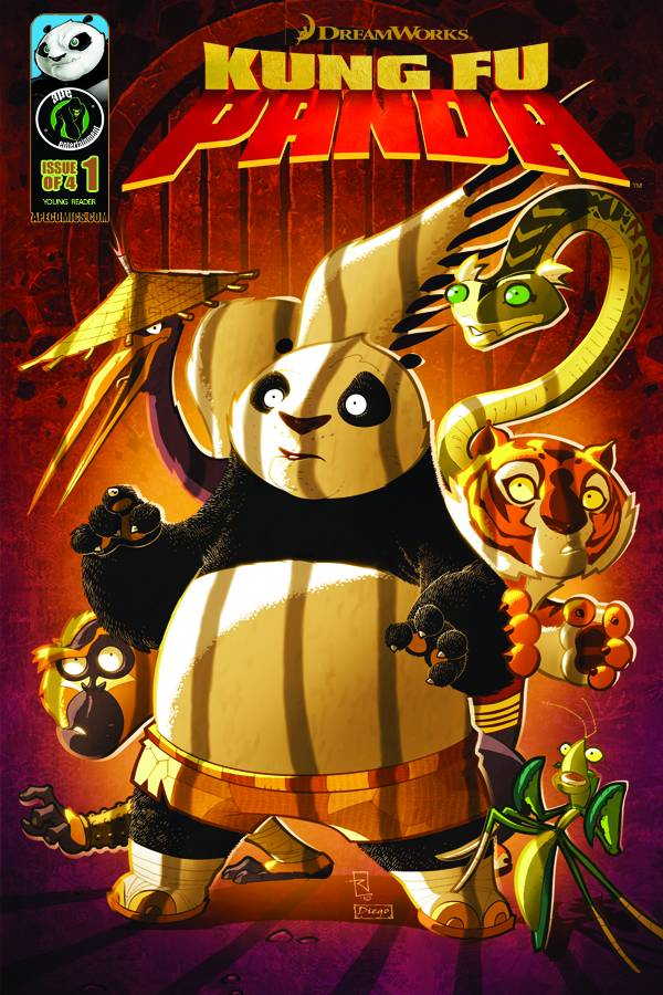 Kung Fu Panda Issue 1 | Kung Fu Panda Wiki | Fandom powered by Wikia