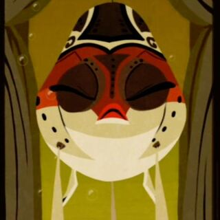 Mugan in 2D animation